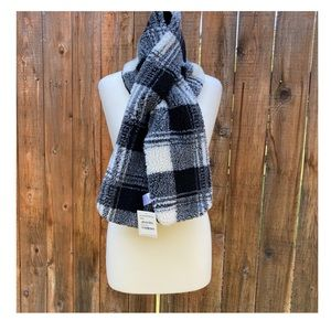 Nordstrom Checkered Reversible Scarf